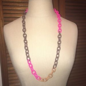 J.crew chain long necklace